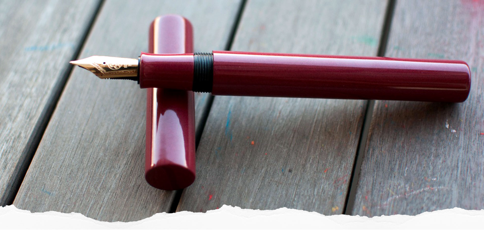 We create each fountain pen with heart and soul